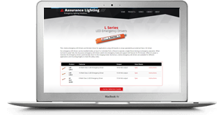 Get the service you need at AssuranceLighting.com